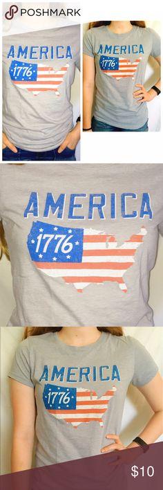 "Selling this Aeropostale ""America 1776"" Tee on Poshmark! My username is: _ajodee. #shopmycloset #poshmark #fashion #shopping #style #forsale #Aeropostale #Tops"