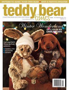 Teddy Bear Times issue 232. Winter Wonderland #TBT #WinterWonderland #TeddyBear