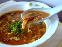 Our family's hot and sour soup recipe is from my grandpa, who ran a Chinese takeout joint after moving to the U. Still the best hot & sour soup I've had. Asian Recipes, New Recipes, Soup Recipes, Chicken Recipes, Cooking Recipes, Favorite Recipes, Healthy Recipes, Chinese Recipes, Delicious Recipes