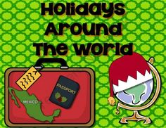 Holidays Around the World Giveaway - Students can use their passports as they travel around the world to learn about Christmas traditions and culture. .  A GIVEAWAY promotion for Holiday Traditions Around the World - Informational Text from Sweet Integrations on TeachersNotebook.com (ends on 11-29-2014)