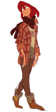 Flannelgal by nargyle Female Character Design, Character Design References, Character Drawing, Character Design Inspiration, Character Illustration, Character Concept, Concept Art, Character Group, Character Sketches