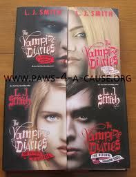 The Vampire Diaries series  ** It's compeletly different from the show** Certain things stay but overall different!