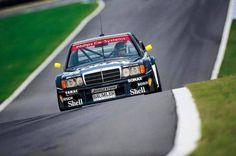DTM Mercedes-Benz scored 50 DTM victories with the AMG Mercedes between 1988 and 1993 Mercedes 190, Mercedes Benz Amg, Carros Mercedes Benz, Classic Mercedes, Benz Car, Bmw M1, Bmw M3 E30, Le Mans, Volvo 850