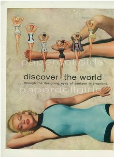 I have the aqua & black swimsuit featured on the bottom of this ad for sale at my Etsy shoppe... Lobstercupcake...check it out!