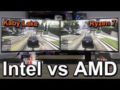 Intel vs AMD 2017 - Side-by-Side Comparison - YouTube