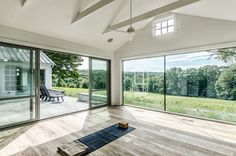 I would want some ceiling windows but this is really close to what I would want.