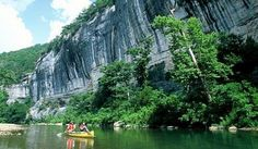 Buffalo National River State Park.  Wonderful place to float.  In the Arkansas' Ozarks.