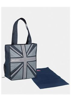 Maclaren Denim Flag Magazine Tote Bag, http://www.isme.com/maclaren-denim-flag-magazine-tote-bag/1140217838.prd
