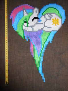 Princess Celestia MLP hama perler by CloseEnuogh on deviantart