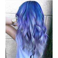 Pinterest ❤ liked on Polyvore featuring beauty products, haircare, hair styling tools, hair and blue hair