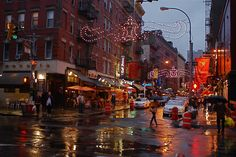 Little Italy city colors