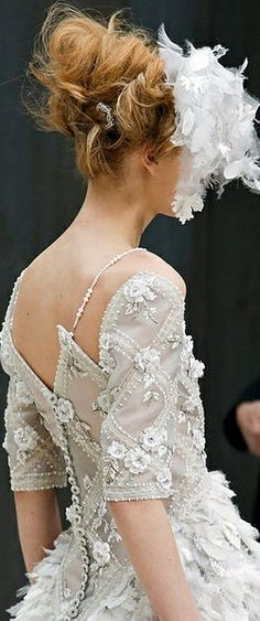 Chanel Haute Couture SS 2013 @}-,-;--