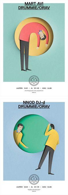Paper Cut Illustrations by Eiko Ojala   Inspiration Grid   Design Inspiration