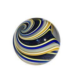 Mark Matthews: Medium Triple Triple Lutz Marble, Blue Goldstone