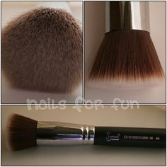 Sigma F80. THE BEST foundation brush I've ever used, hands down! Airbrushed and flawless!