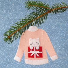 Cute! Felt Ornament Shirts