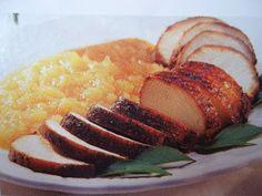 Rute Receitas: Lombo suíno com purê de maçã