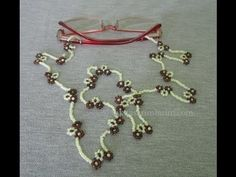 How to Make Eyeglass Rope from Beads - Jewelry 💍 Diy Jewelry Stand, Diy Jewelry To Sell, Jewelry Crafts, Handmade Jewelry, Jewelry Making, Diy Jewelry Videos, Diy Jewelry Tutorials, Seed Bead Necklace, Beaded Necklace