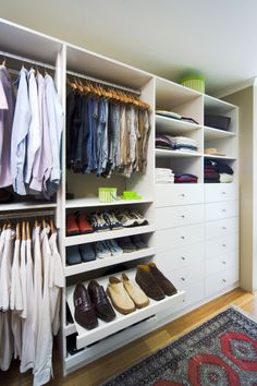 Beautiful Built in and Walk-in Wardrobe design & Storage Solutions Walk In Wardrobe Design, Walk In Robe, Bed Wall, Spare Room, Bedroom Storage, Wardrobes, Storage Solutions, Motto, Home Office