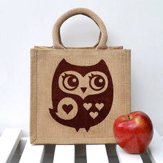 little owl lunch bag by snowdon design & craft | notonthehighstreet.com