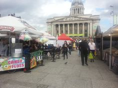 Great review of our Nottingham continental market!