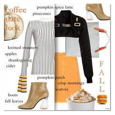 """""""PUMPKIN SPICE STYLE"""" by deneve ❤ liked on Polyvore featuring Acne Studios, Jil Sander, Rick Owens, Emilio Pucci, K&K Interiors, falltrend and pss"""