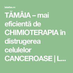 TĂMÂIA – mai eficientă de CHIMIOTERAPIA în distrugerea celulelor CANCEROASE | La Taifas