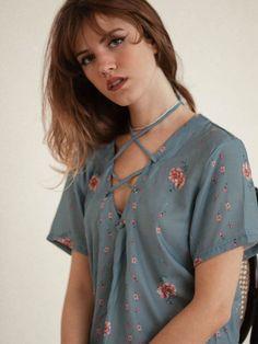 Blusa Abigail Azul - Steal The Look
