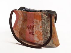 Patchwork Handbag quilted shoulder bag evening purse by QuiltyCo