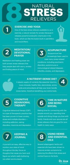 Always Stressed? 8 Natural Stress Relievers To Try
