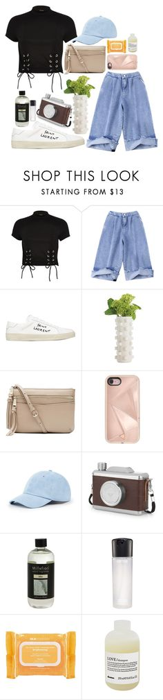 """boomshakalaka🙌🏼"" by grassgrvsk ❤ liked on Polyvore featuring River Island, Yves Saint Laurent, Arteriors, Witchery, Rebecca Minkoff, Sole Society, Millefiori, MAC Cosmetics, Ole Henriksen and Davines"