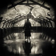 Alex Timmermans Collodion Ambrotype wet plate Photography: The making of The rain maker