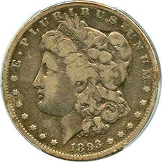 1893 S Morgan Dollars Dollar VG-8 PCGS -- Continue to the product at the image link.