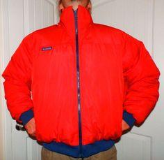 c41117ba9de0 vintage 90 s COLUMBIA goose DOWN reversible ski jacket puffy coat MENS xl  tall  Columbia  Puffer