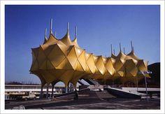 Japan's Telecommunications Pavilion at Expo '70