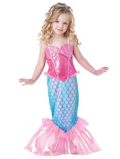 Amazon.com: InCharacter Baby Girl's Mermaid Costume: Clothing