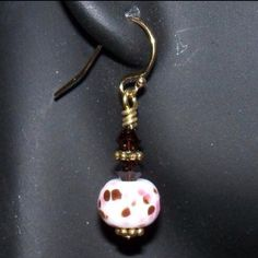 Handmade earrings NYC Fashion Connection