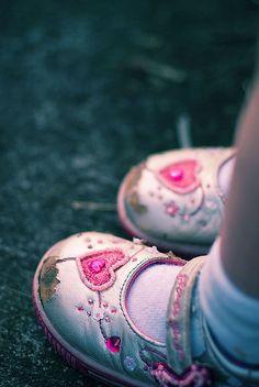 Little shoes.
