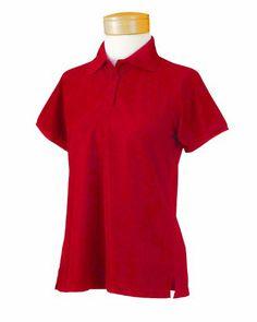 c0925f5d1ee513 Chestnut Hill Women's Short Sleeve Technical Performance Polo Shirt CH365W