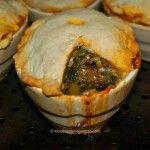 Hot Spinach, Olive & Artichoke Pie