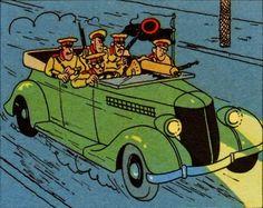 La oreja rota - Ford V8 Convertible 1936