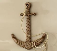 Carved Wood Anchor | Pottery Barn