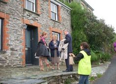 Fern Cottage in Port Isaac, UK  The house where the Doc Martin surgery shoots from.