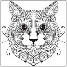 Coloring Pages For Kids Printable Free See More Afbeeldingsresultaat Voor Cat Mandala