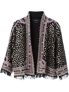 Shop Isabel Marant for women at Farfetch for pieces that embody effortless Parisian cool-girl style. Cl Fashion, Boho Fashion, Autumn Fashion, Fashion Design, Womens Fashion, Fashion Weeks, London Fashion, Isabel Marant, Embroidered Jacket