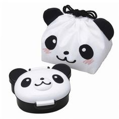 """Lunchtime should be fun time, and J-List knows that our customers love to find """"kawaii"""" new bento boxes on our site. Here's a super cute Panda Lunch Box, incredibly lovely. For sure, you would like to bring this bento box everywhere. All the box is shaped Kawaii Bento, Box Kawaii, Kawaii Shop, Lunch Box Bento, Japanese Bento Lunch Box, Lunch Bags, Panda Bebe, Cute Panda, Rilakkuma"""