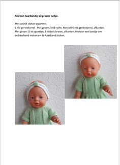 Baby Born, Dress Making, Baby Dolls, Doll Clothes, Knit Crochet, Sewing, Knitting, How To Make, Diy