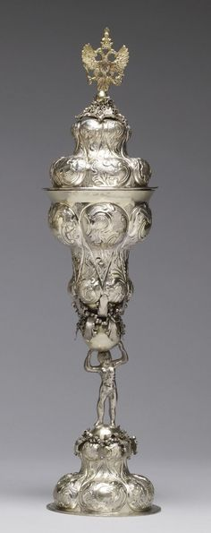 Standing Cup with Cover,Russian,18th century.