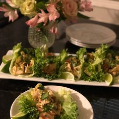 Spicy Southwest-Style Louis Kemp Crab Delights Lettuce Wraps is filled with the fragrant and zesty flavors of ancho chile powder, fresh jalapeno, green onions, fresh. Lettuce Wrap Recipes, Lettuce Wraps, Lettuce Leaves, Seafood Recipes, Mexican Food Recipes, Whole Food Recipes, Ethnic Recipes, Crab And Lobster, Fresh Lime Juice