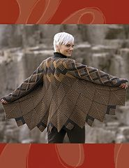 Ravelry: Harlequin Swing Coat pattern by Jane Slicer-Smith.would make a great throw Knitting Blogs, Knitting Designs, Knitting Projects, Hand Knitting, Knitting Patterns, Sewing Patterns, Knitting Sweaters, Knit Mittens, Vogue Patterns